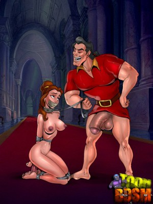 beauty and the beast bdsm sex toon